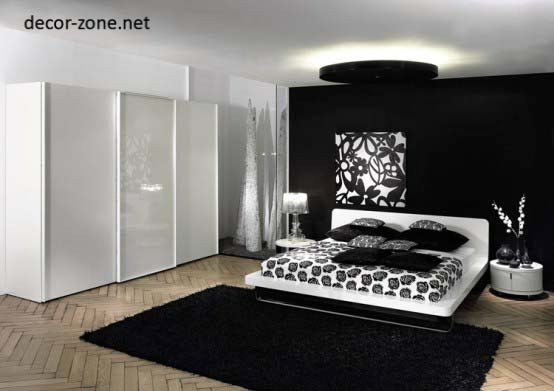 Japanese Bedroom Design Ideas, Black And White Bedroom Japanese Style Part 81