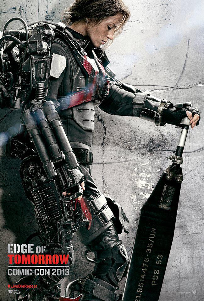 Nuevos pósters de Edge of Tomorrow