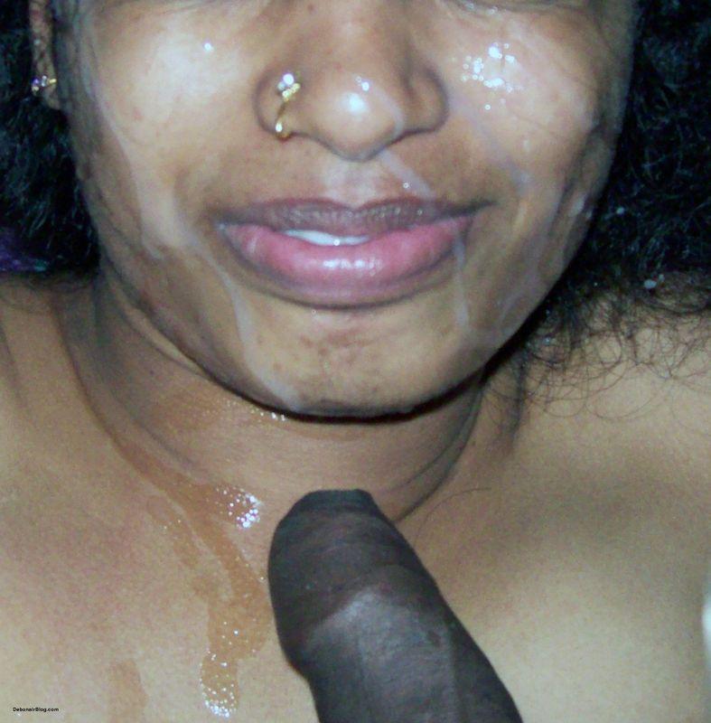 Indian cummed faces nude foto 2