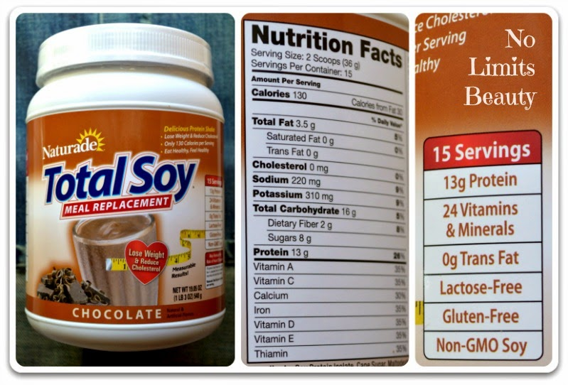 Naturade, Total Soy, Meal Replacement, Chocolate,