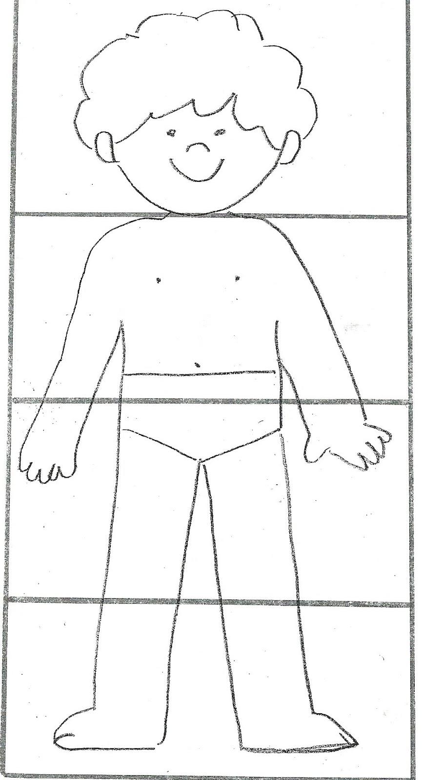 Rompecabezas para armar del cuerpo humano - Imagui