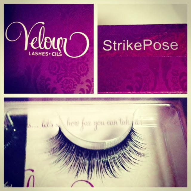 Angela Collins Beauty Review Velour Lashes Strike A Pose