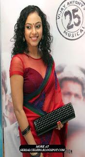 Rupa Manjari in transparent saree