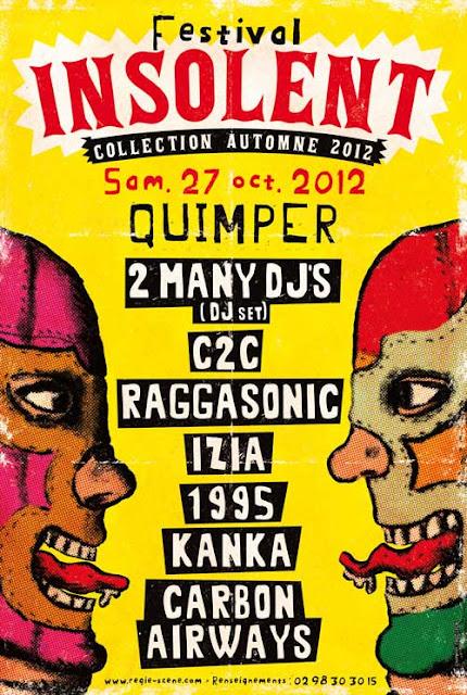 Festival INSOLENT Collection Automne 2012
