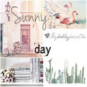 """Доска вдохновения """"Sunny Day"""""""