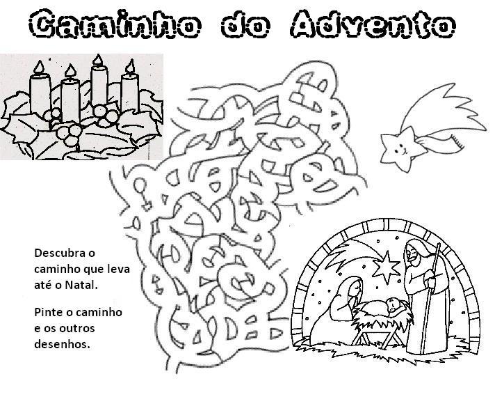 Jardim da Fé ♥: ATIVIDADES PARA O ADVENTO