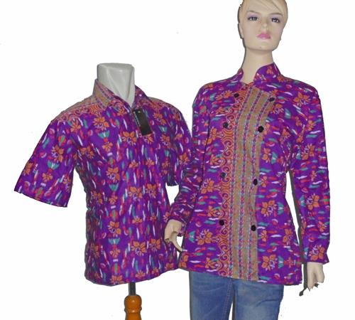 Deskripsi Baju Batik Sarimbit Blus SB951