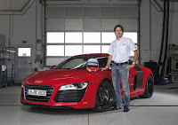Audi R8 E-Tron Hums It's Way Around the Nürburgring in Record Time