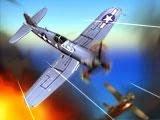 لعبة هجوم طائرات حريق السماء اون لاين Burning Skies Online Game