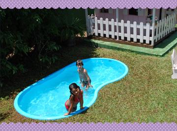 Uma casa com amor 20 piscinas para ambientes pequenos Fotos piscinas para espacios pequenos