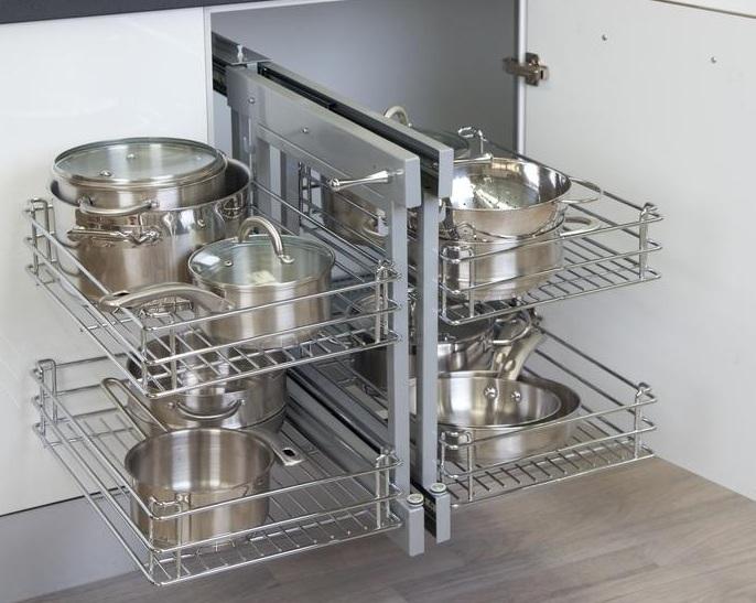I d e a el espacio en la cocina soluciones para - Esquineros de cocina ...