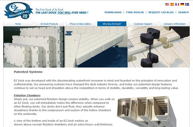 EZ-Dock Boat Lift Systems