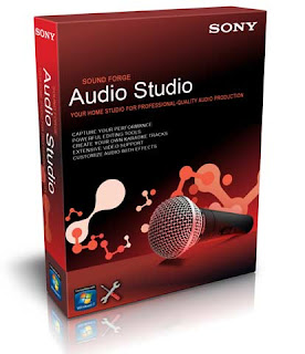 Sound Forge Audio Studio v10 + Keygen