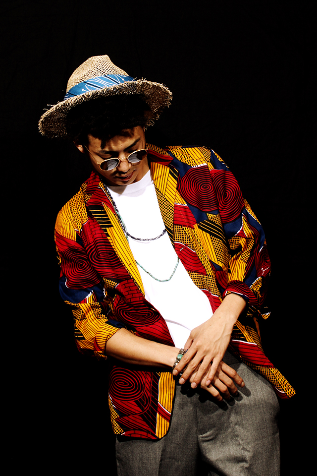 nisushotelナイサスホテルテーラードジャケットafricanbatikアフリカンバテックgreen angleグリーンアングルstadium03スタジアム原宿harajuku立川亮太郎ryotarotachikawa
