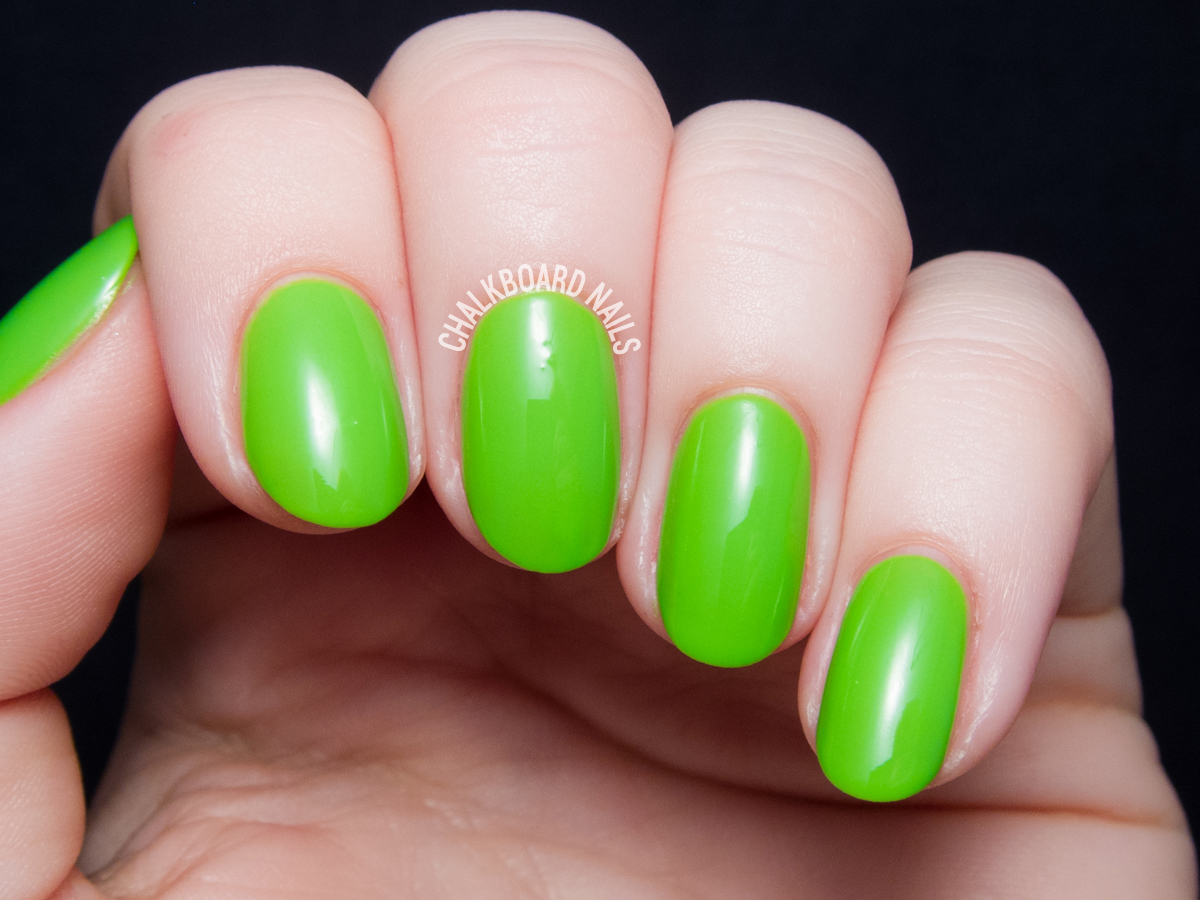Serum No. 5 Krypton-Brite via @chalkboardnails