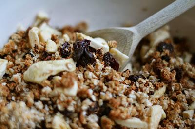 Sugar free granola