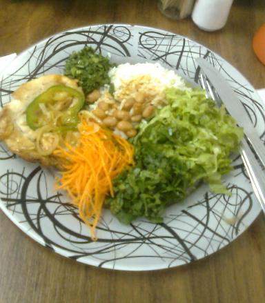 Almoço gostoso e saudável!