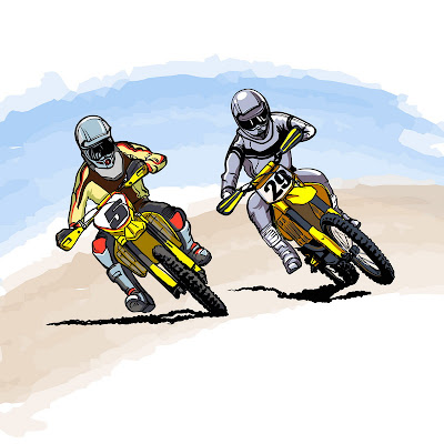 sport dirt bike images (racers)