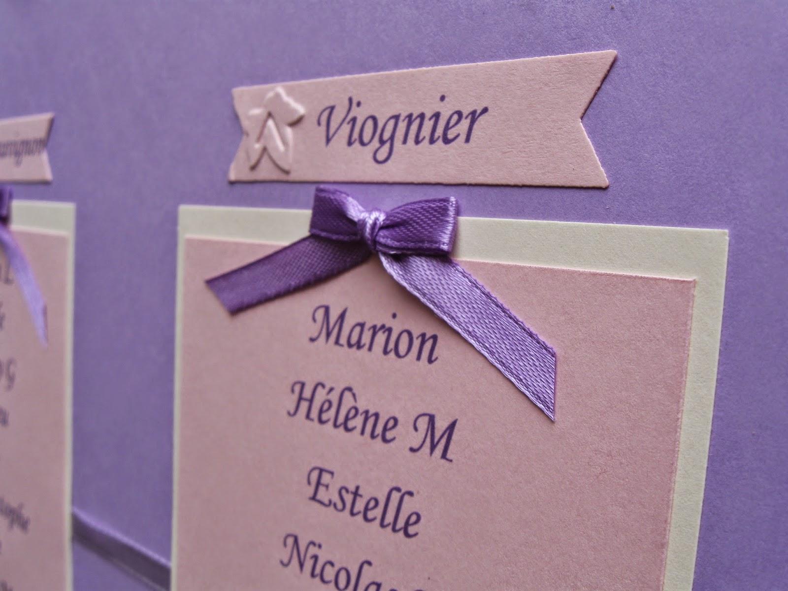 Rose de biboun papeterie de mariage un plan de table sur mesure sur le th me de la vigne - Faire un plan de table mariage ...