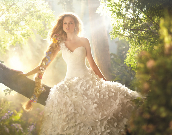 Disney+Fairytale+Wedding+Dress+Rapunzel