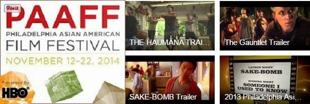 Philadelphia Asian American Film Festival Nov 12 - 22, 2014