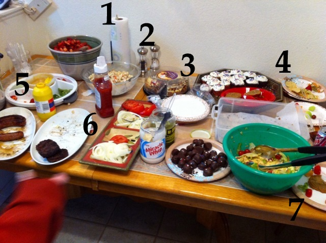 How NOT to set up a buffet. & How to set up a buffet table (\u0026 examples of what not to do.) | The V ...