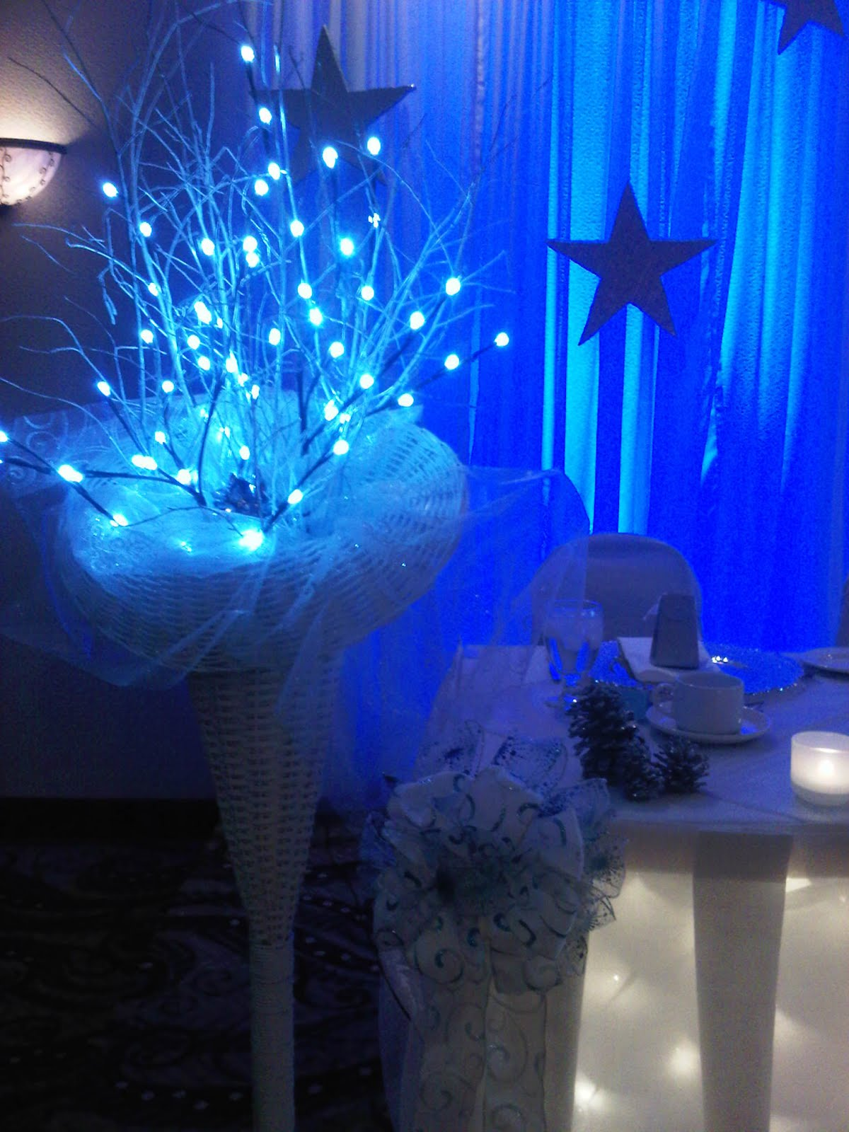Leave the Details to Me: Winter Wonderland 25th Wedding Anniversary