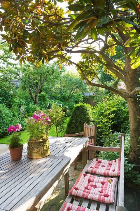 fotos de jardins urbanos : fotos de jardins urbanos:Jardín urbano. Londres. Diseño Butter Wakefield Foto Clive Nichols