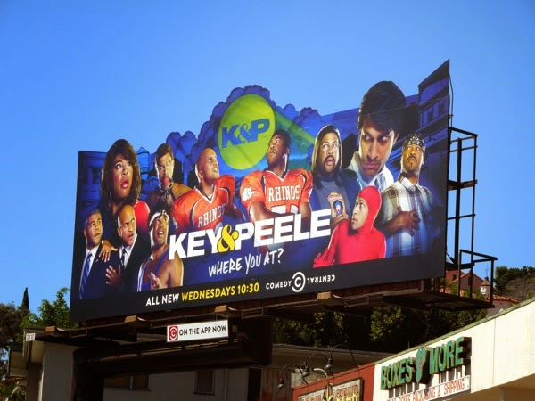 Key Peele season 4 billboard
