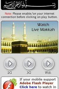Live Streaming app for Mecca