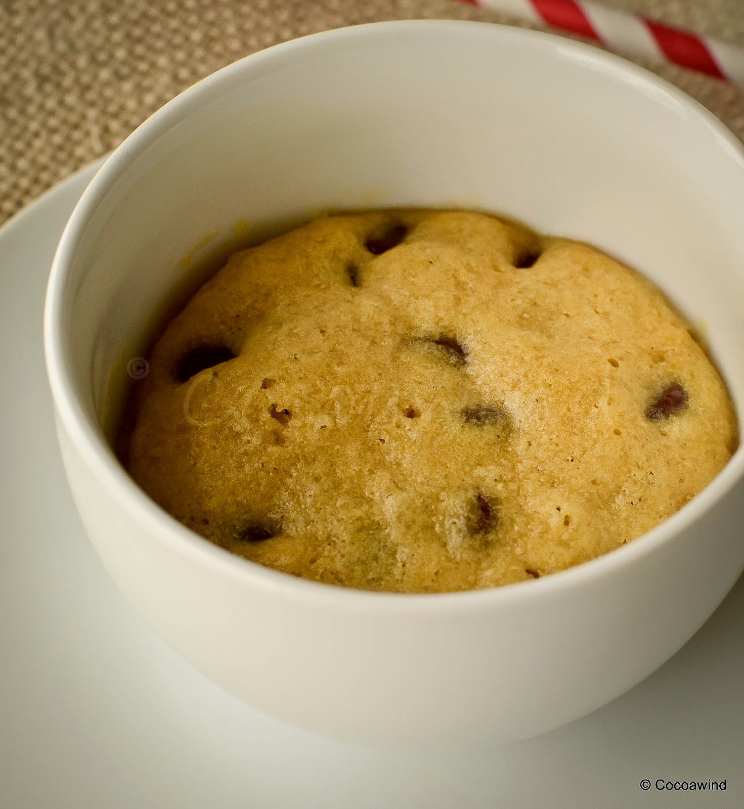 One Minute Cookie in a Cup