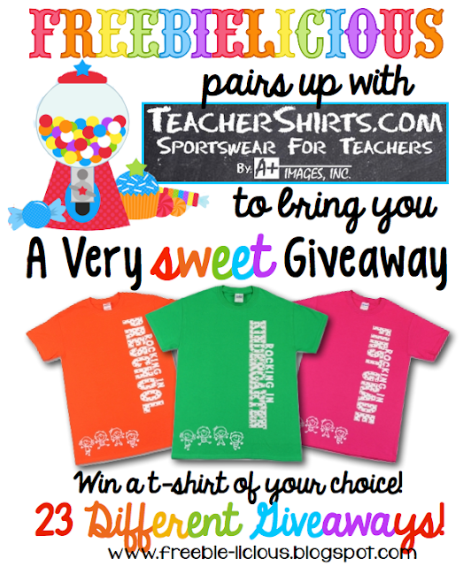 FREE Teacher T-shirt Giveaway