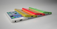 iPhone5c, colors on Apple phone
