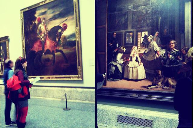 Madrid museo del prado meninas