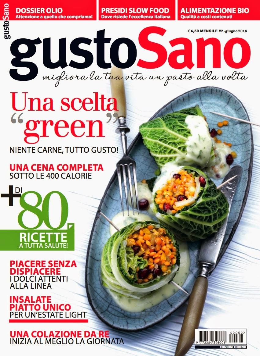 La mia insalata su GustoSano di giugno