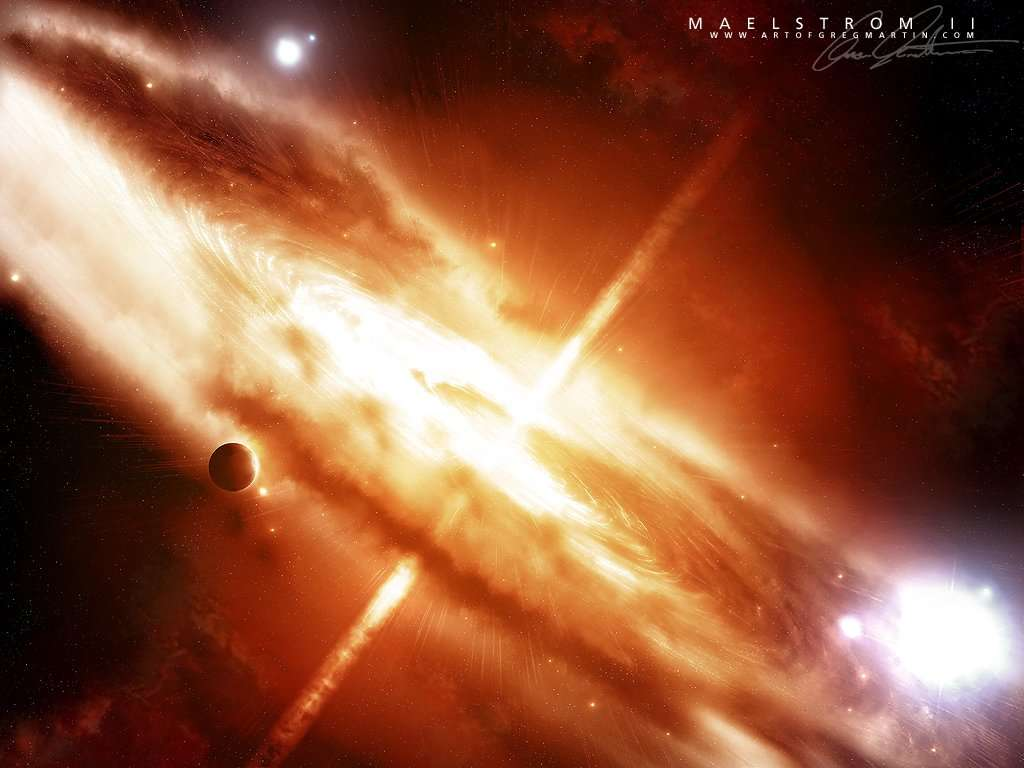 Space Explosion Wallpaper