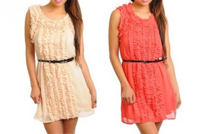 eoAdorn summer ruffle dress