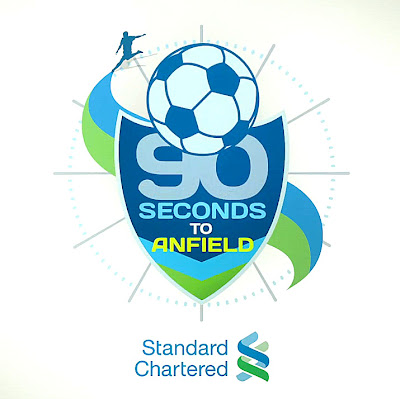 Standard Chartered 90 Seconds to Anfield Contest