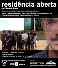 Em novembro 2016: Residência Anti Status Quo com Gustavo Ciríaco