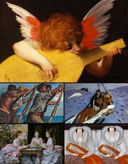 Живописные обои репродукции картин