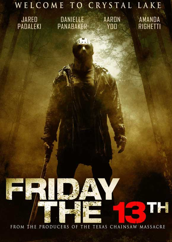 Collection of Friday the 13th Movie Posters for Today's Honour