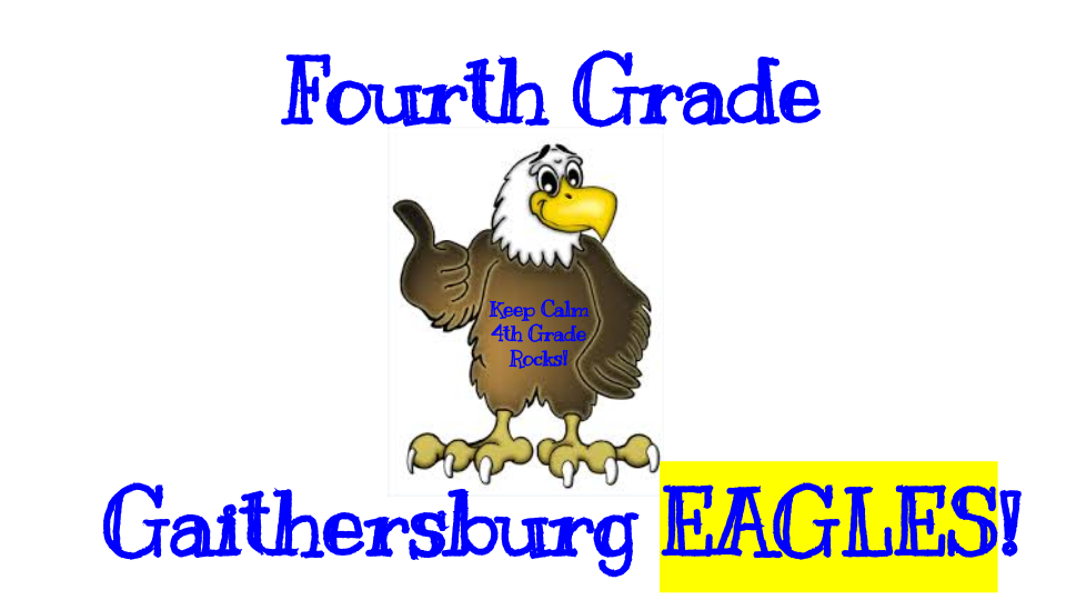 *Fourth Grade Eagles*