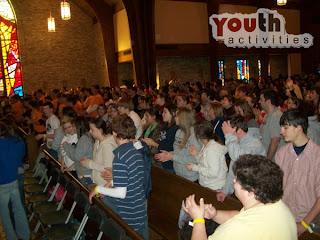 Catholic Youth Group Activities