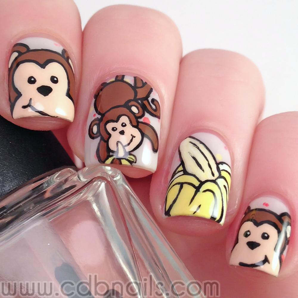 Animal Nail Designs: Cdbnails: Nail Art Challenges