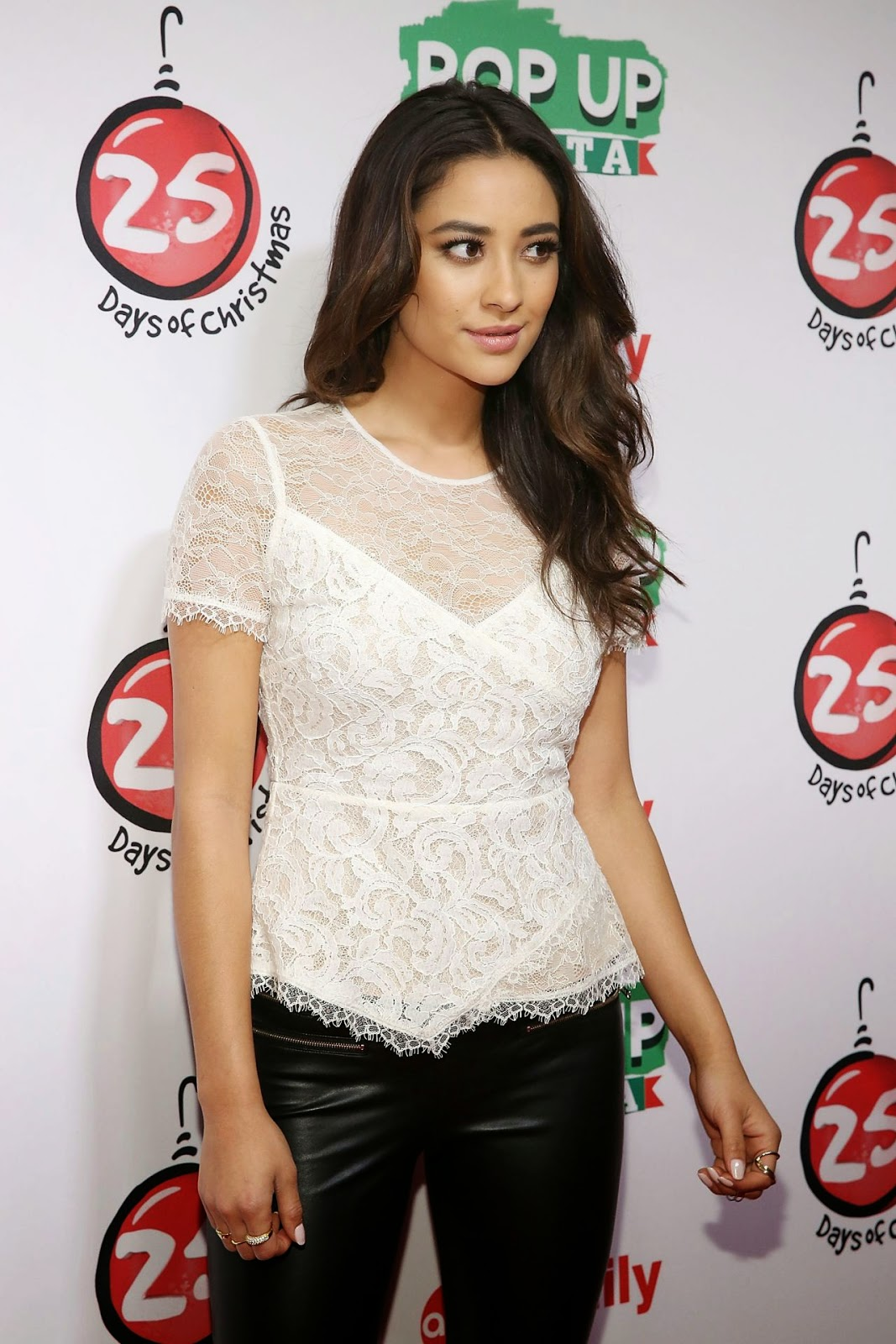 Shay Mitchell – ABC's 25 Days Of Christmas Celebration in NYC – December 2014