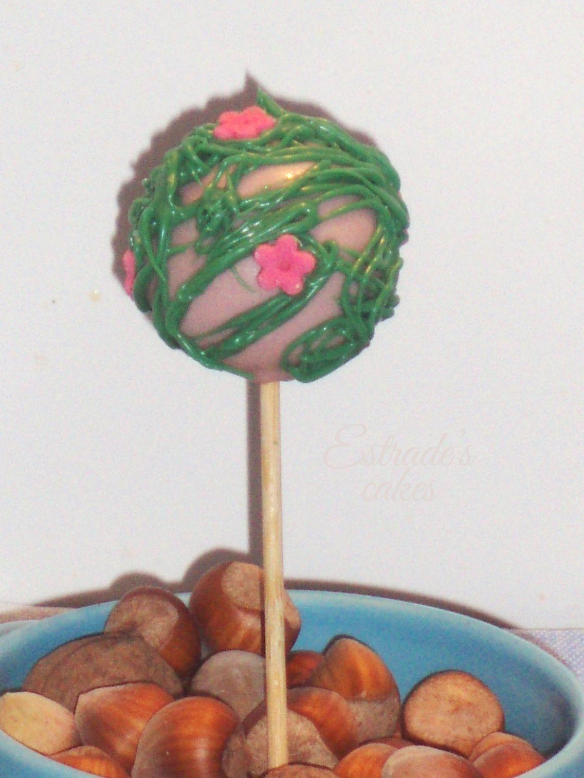 cake pop árbol