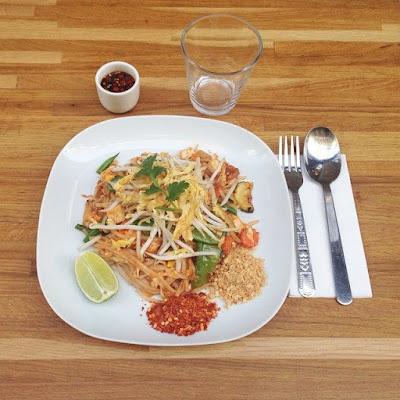 Pad Thaï gluten-free, Kapunka Paris Kapunka resto thai  rue saint-sauveur nouveau quartier bars restos cool Paris