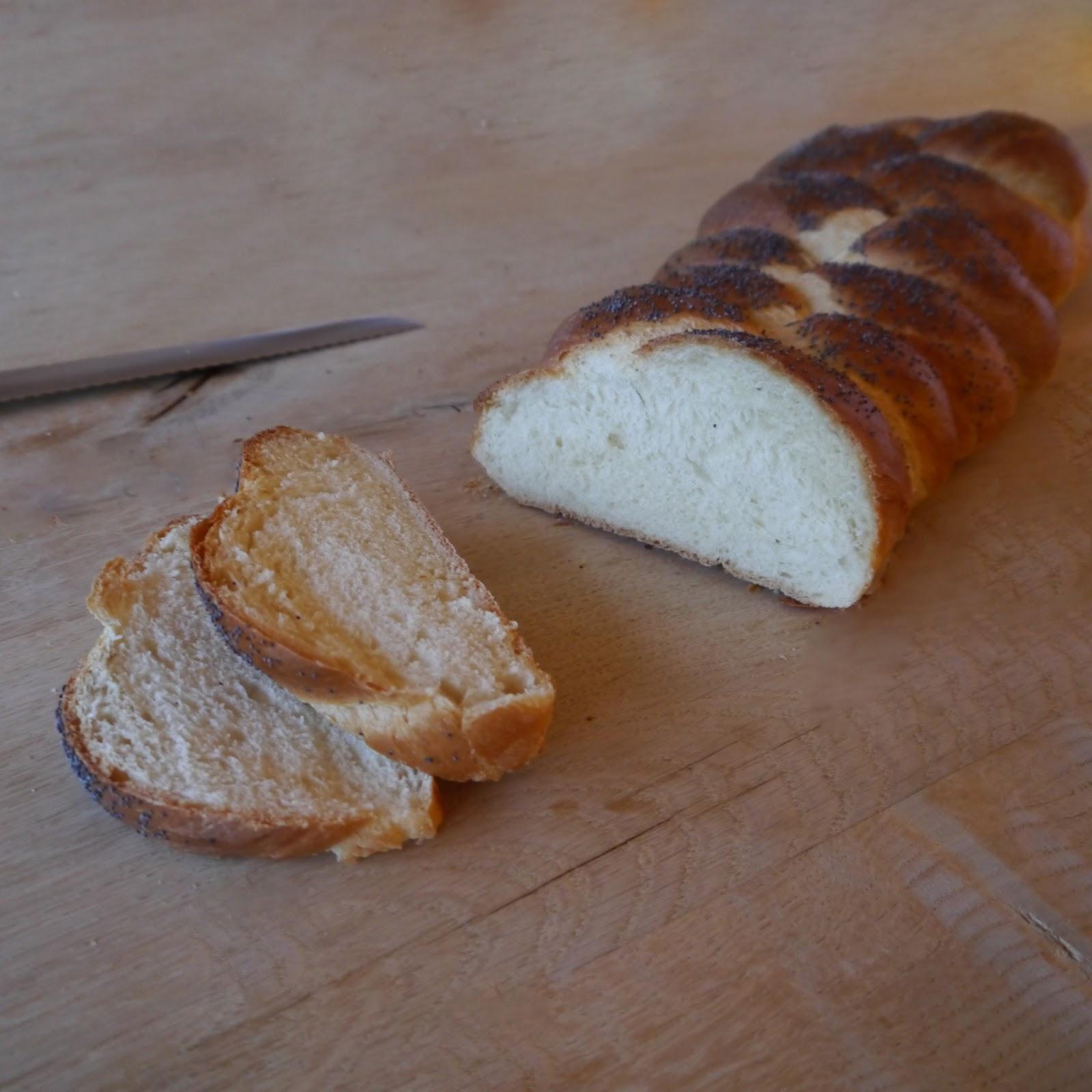 Makes 1 large challah bread