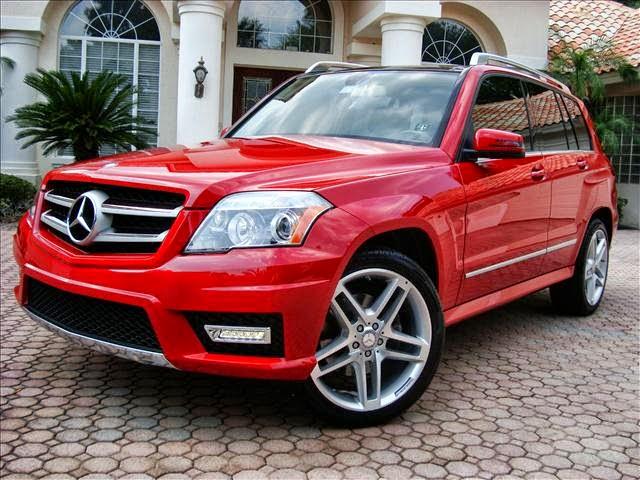 mercedes glk custom - Mercedes Glk Red