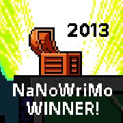 NaNo Winner 2013